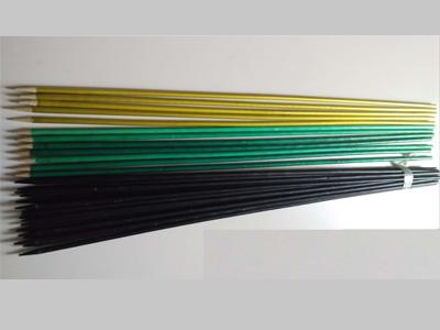 Natural Bamboo Stakes With Colored Full Coating