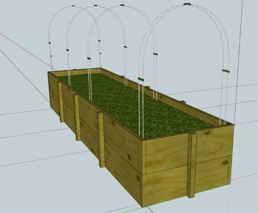Temporary Greenhouse Support Clips